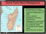 some facts about madagascar