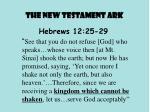 the new testament ark1
