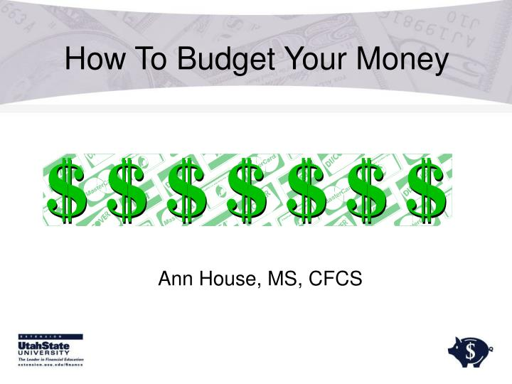 how to budget your money n.