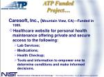 atp funded project