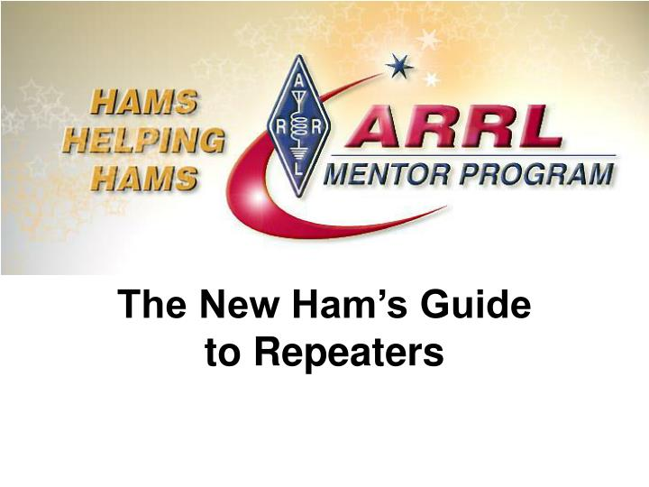 the new ham s guide to repeaters n.