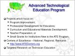 advanced technological education program