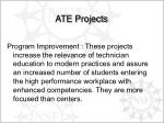 ate projects
