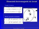 elementul electromagnetic de circuit