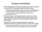 corpus revolution