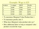 example wage is 251