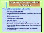 employee compensation benefits