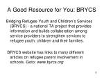 a good resource for you brycs