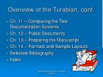 overview of the turabian cont1
