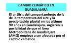 cambio clim tico en guadalajara
