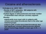 cocaine and atherosclerosis2