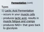 fermentation cont