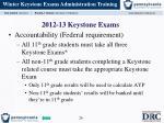 2012 13 keystone exams