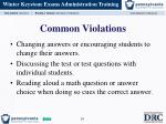 common violations1