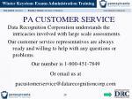 pa customer service