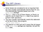 the api library2