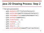 java 2d drawing process step 2