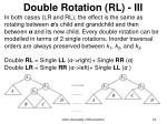 double rotation rl iii
