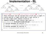 implementation rl