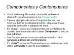 componentes y contenedores