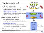 how do we compress1