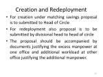 creation and redeployment1