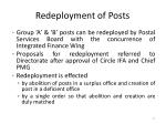 redeployment of posts1
