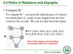 4 3 paths in relations and digraphs7
