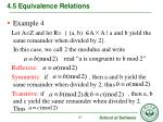4 5 equivalence relations3