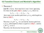 4 8 transitive closure and warshall s algorithm4