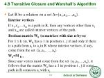 4 8 transitive closure and warshall s algorithm5