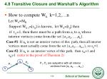 4 8 transitive closure and warshall s algorithm6