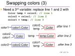swapping colors 3