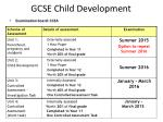 gcse child development