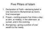 five pillars of islam