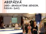 abip iv abi graduating senior p iv day