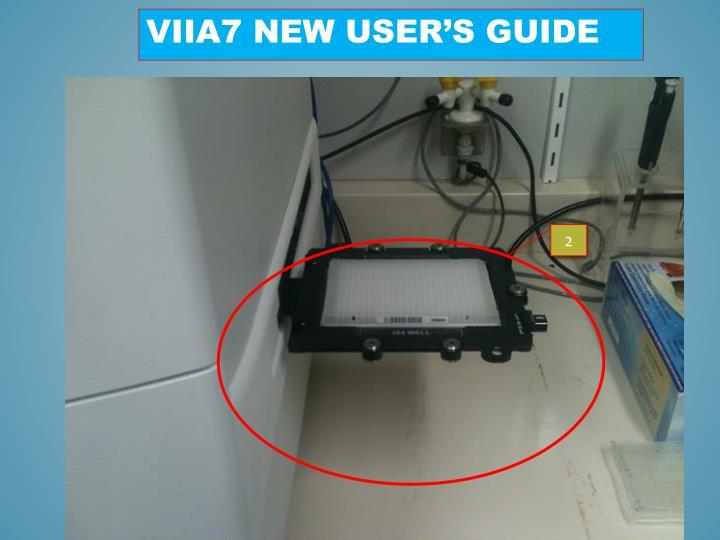 ViiA7 new user's guide