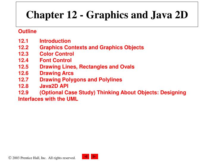 chapter 12 graphics and java 2d n.