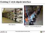 existing c style dipole interface