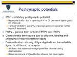 postsynaptic potentials1