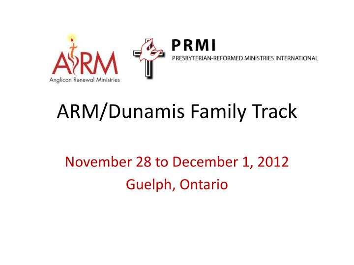 arm dunamis family track n.