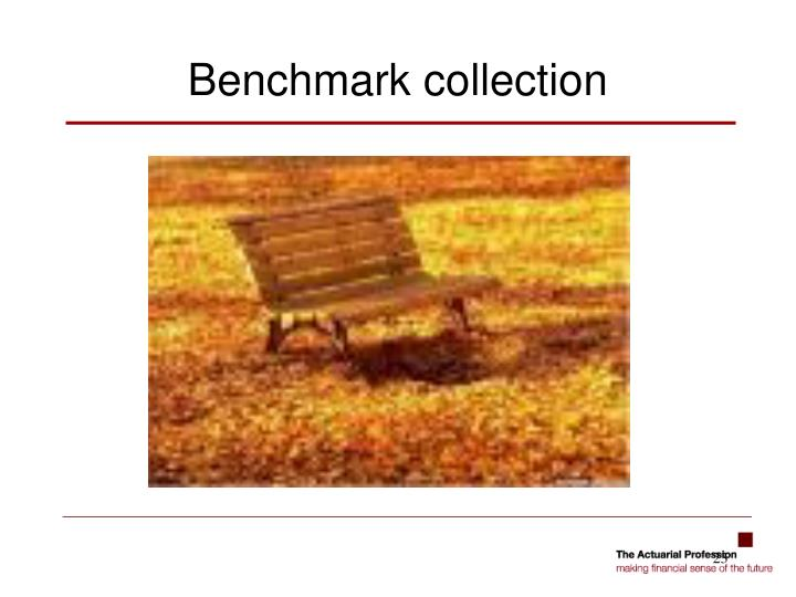 Benchmark collection