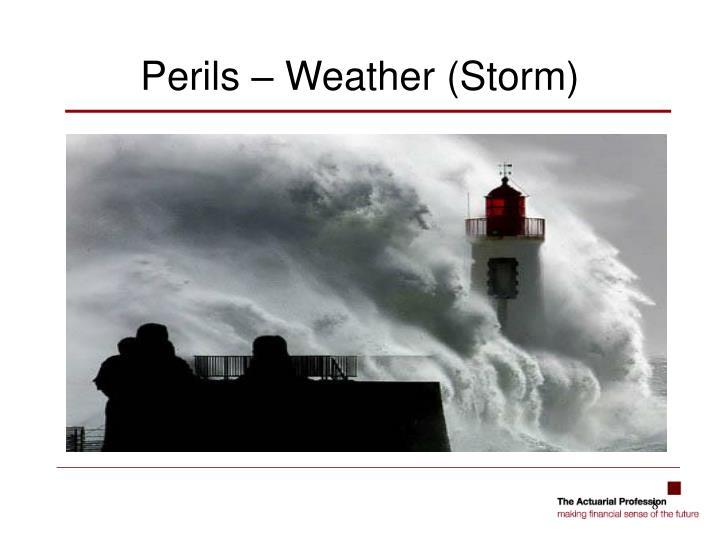 Perils – Weather (Storm)