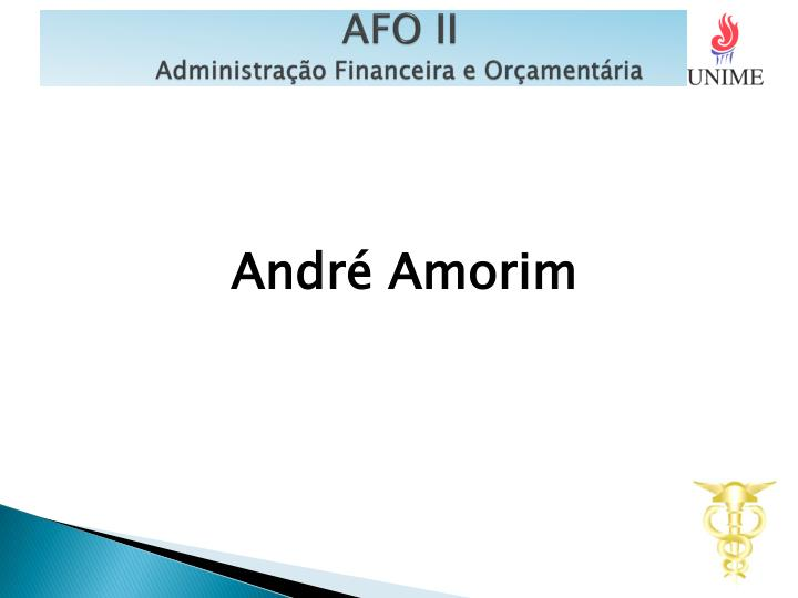 afo ii administra o financeira e or ament ria n.