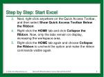 step by step start excel3