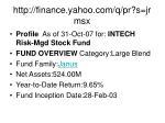 http finance yahoo com q pr s jrmsx