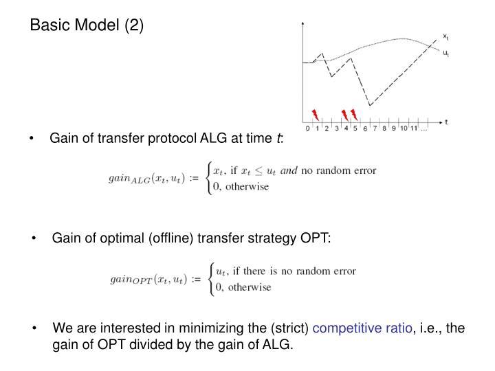 Basic Model (2)