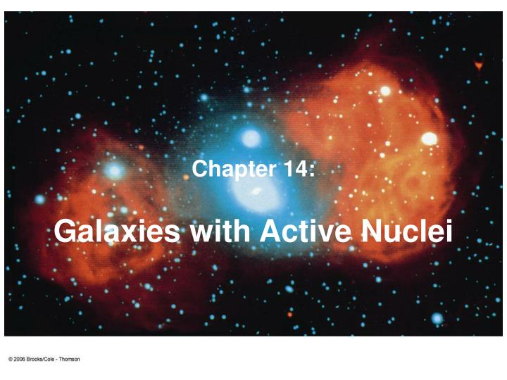 galaxies with active nuclei n.