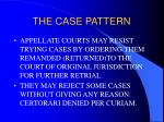 the case pattern