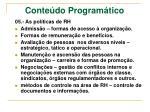 conte do program tico2